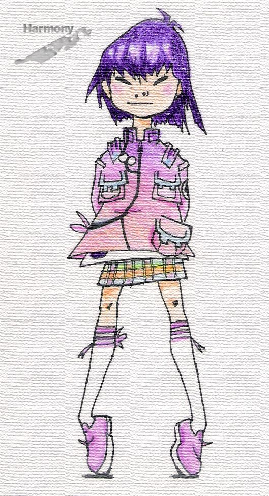 Another Noodle's drawing.