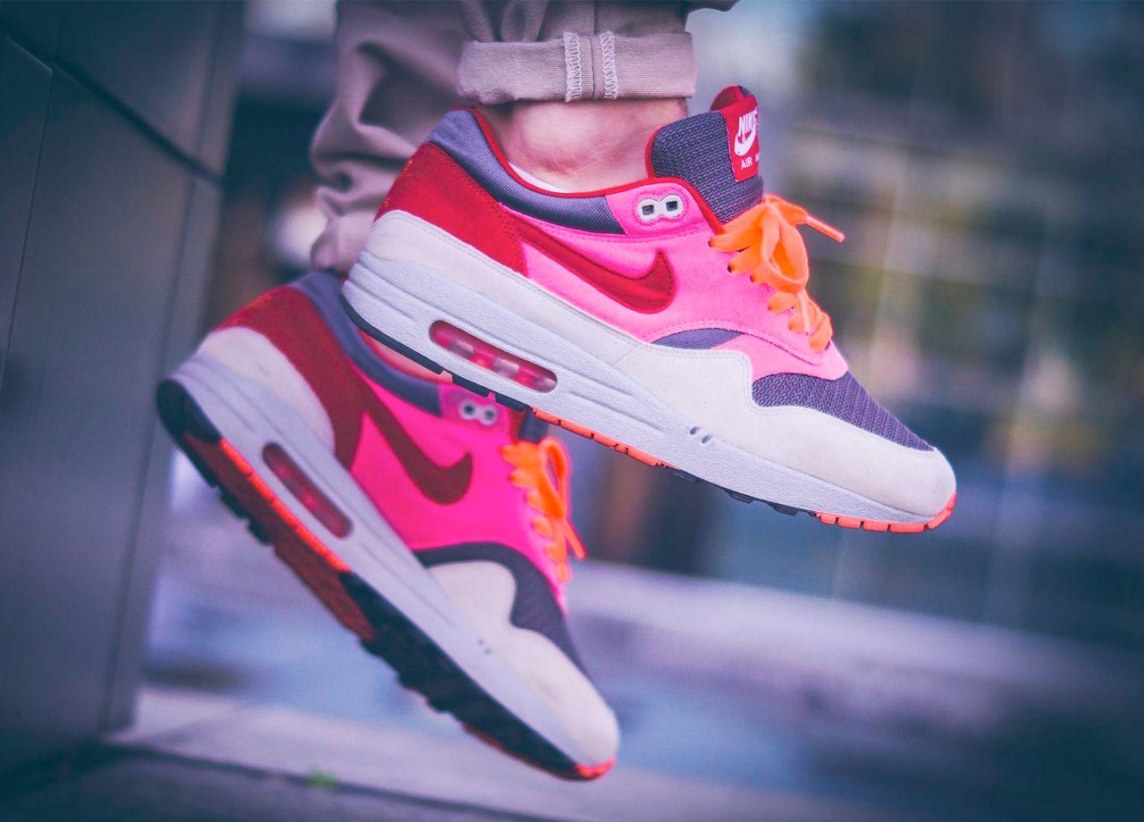 Nike Air Max 1 'Pink Pack' (by knucklerkane) – Sweetsoles