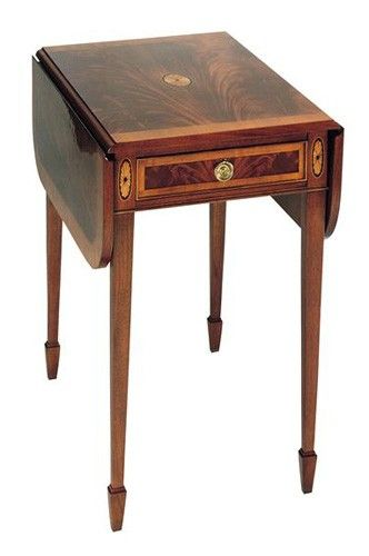 I have two of these Hekman Copley Square Pembroke tables.  Hekman