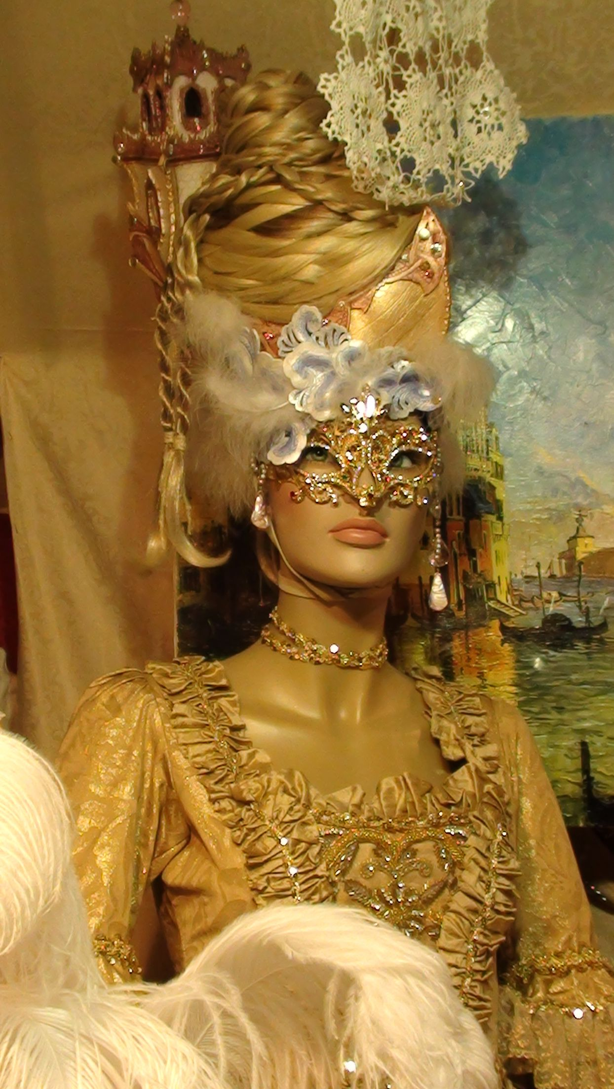 A Window Display In Venice