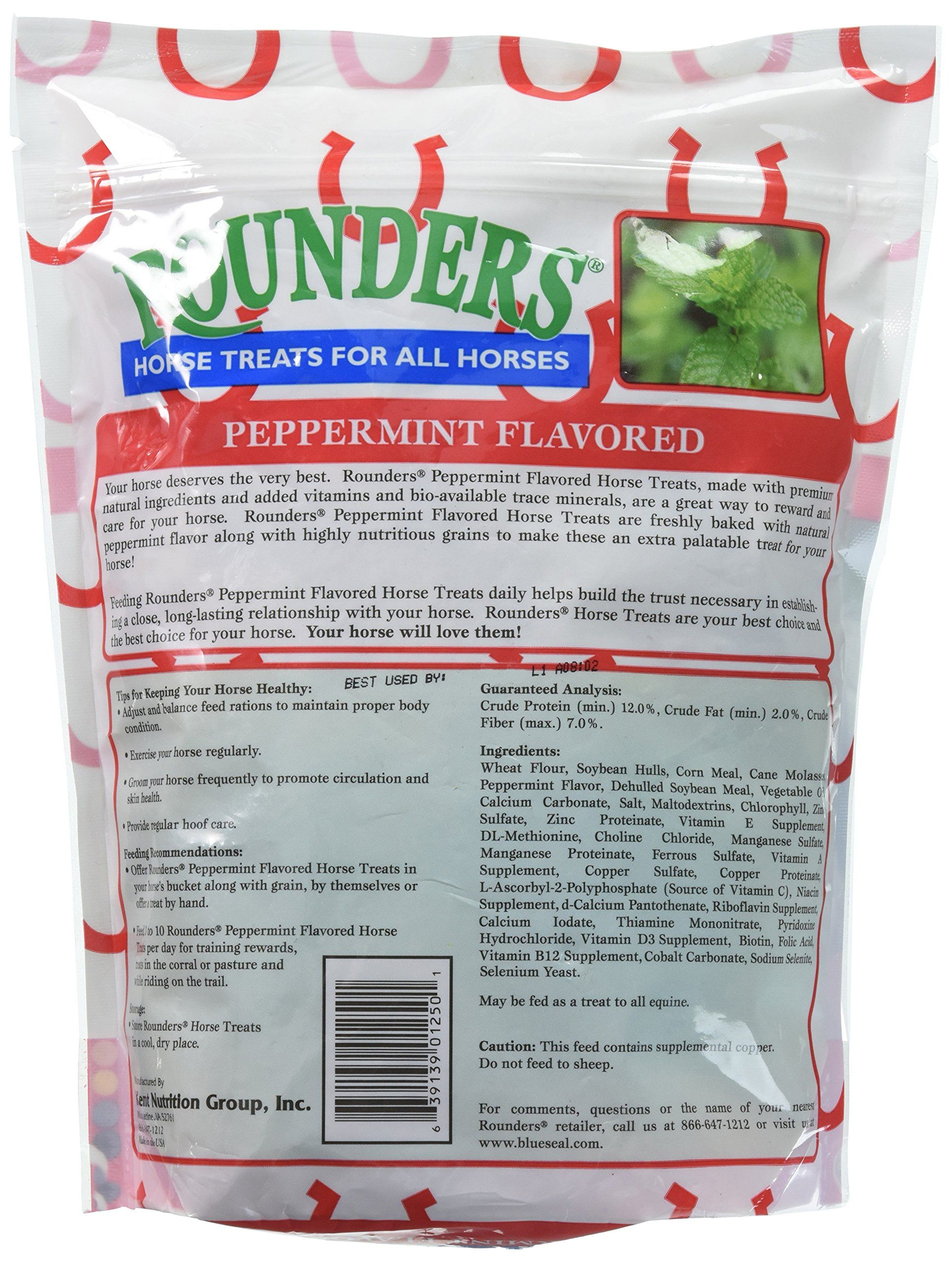 Peppermint Rounders Horse Treat 30 Oz