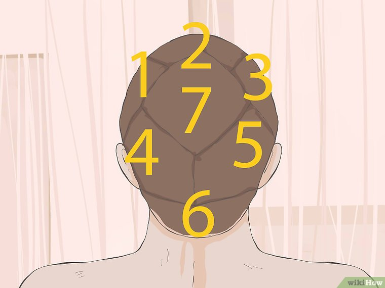 How to Section Hair