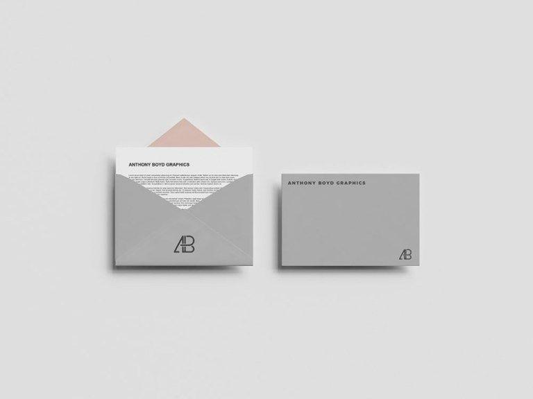 50 Envelope Mockup Psd Design Templates Candacefaber Postcard Mockup Mockup Free Psd Free Mockup
