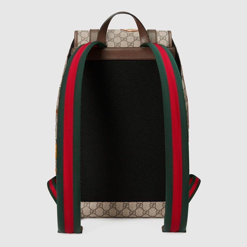 fb4c4aa76191 Gucci Gucci Courrier soft GG Supreme backpack Detail 3