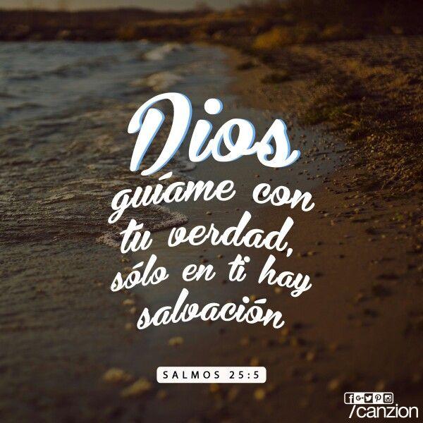 Gu ame con tu verdad y ens ame porque t eres el dios for Ensename todo
