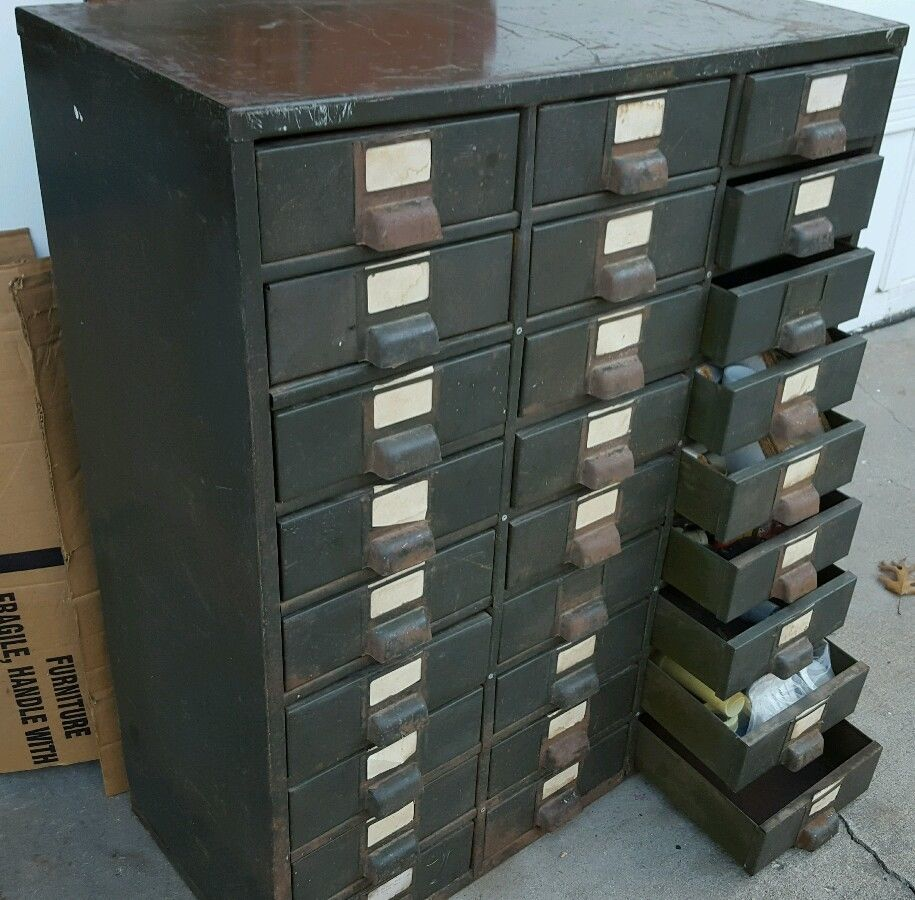 The Line Of Small Parts Hobart Cabinet Company #10   US $299.00 Used In  Business U0026 Industrial, ...