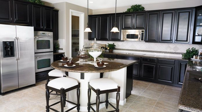 Black And White Kitchen Contrast Las Vegas Dream