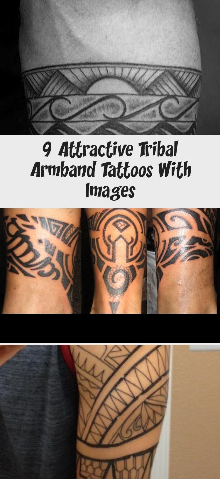 9 Attractive Tribal Armband Tattoos With Images In 2020 Tribal Armband Tattoo Tribal Armband Arm Band Tattoo