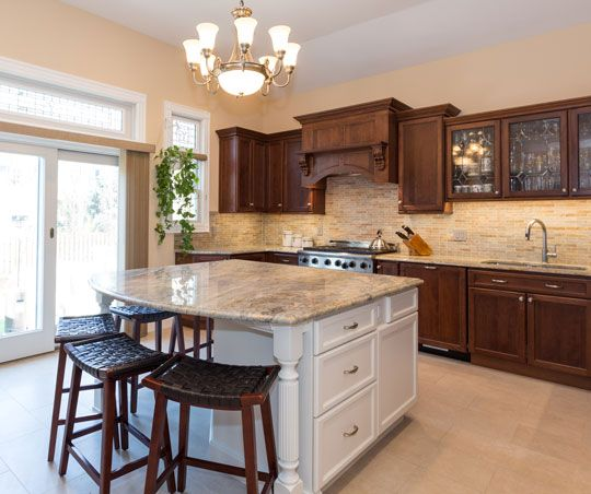 New Look Kitchen And Bath: Kitchen Remodel In Weehawken, New Jersey. Designed By