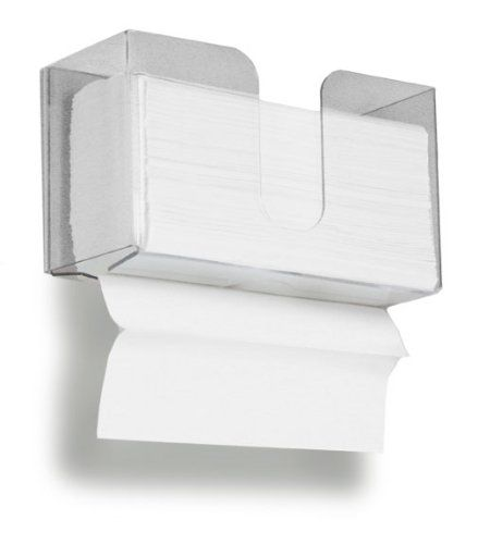TrippNT 51912 Dual Dispensing Paper Towel Holder With 150 Multi Fold Paper  Towel Capacity TrippNT