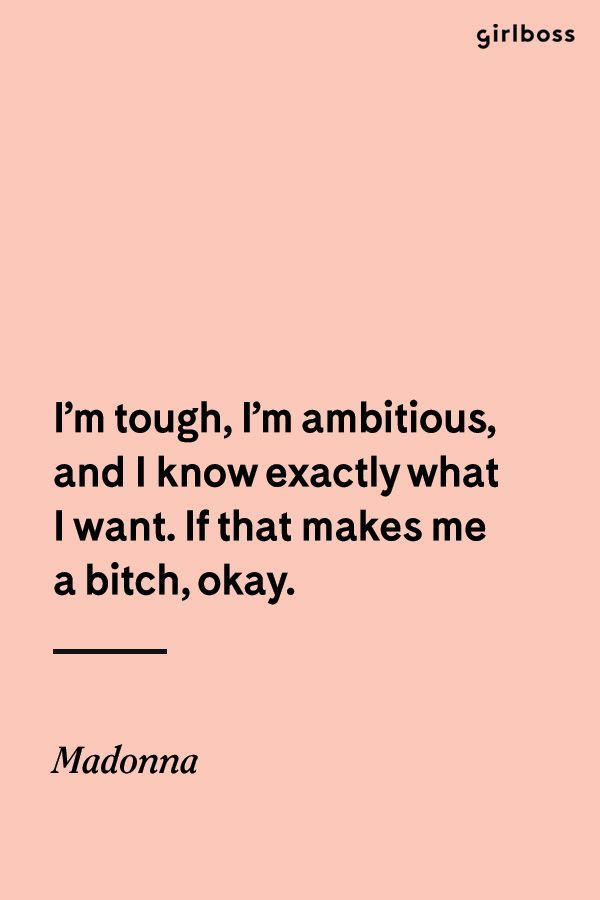 Girlboss Quote Im Tough Im Ambitious And I Know Exactly What I