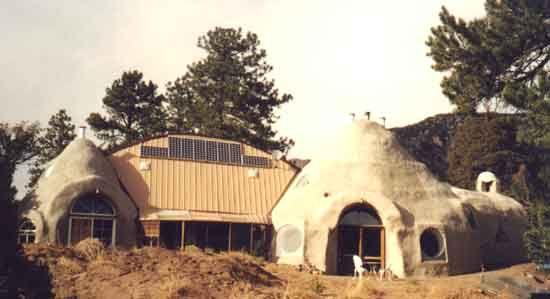 Earthbag Papercrete Home