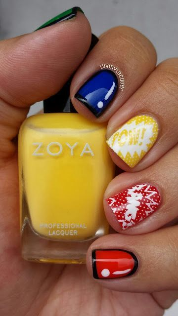 LuvMyLacquer: MoYou Comically Nail'd It!