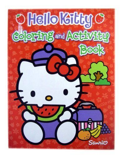 Sanrio Hello Kitty Coloring Activity Book Hello Kitty Coloring Book By Bendon 5 95 96 Pg Kitty Coloring Hello Kitty Colouring Pages Hello Kitty Coloring