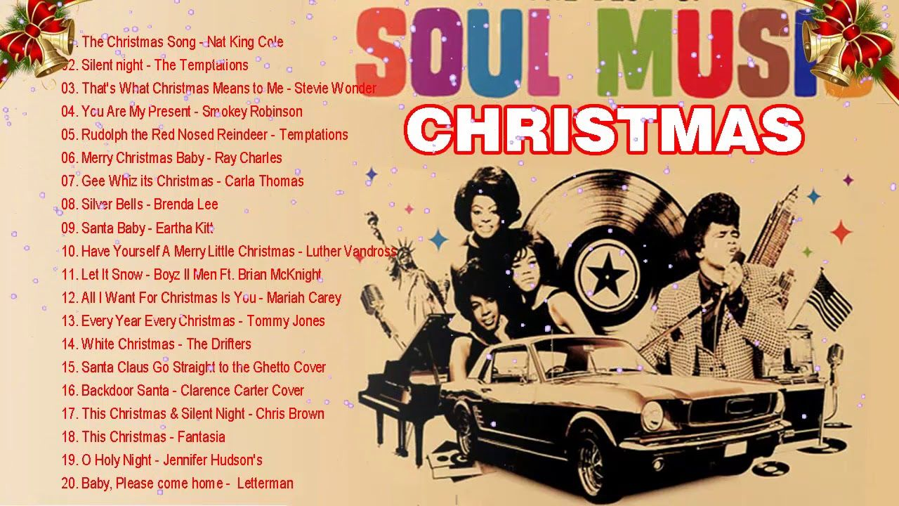 Soul Christmas Songs Of The 60s 70s Dÿz Best Soul Christmas Songs