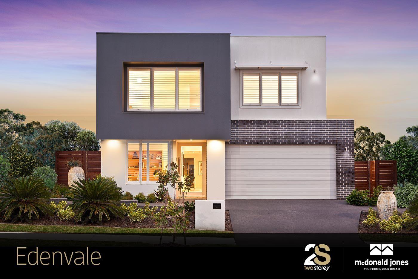 Edenvale Home Decor Ideas: The Mailibu Facade On The Edenvale Two Storey Home. The