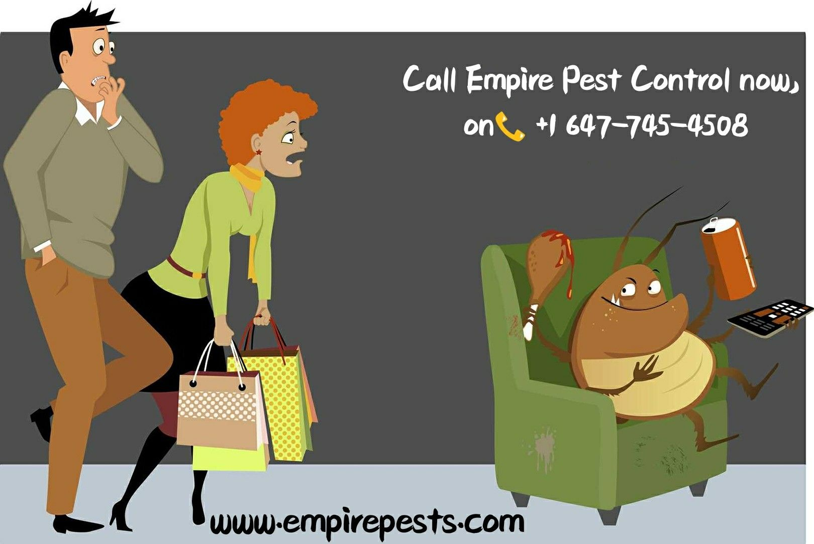 Empire Pest Control is a family run friendly pest control