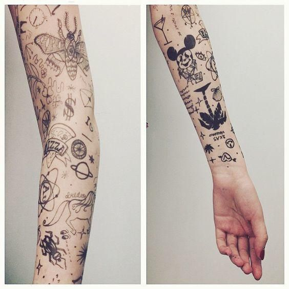 Tattoos For Young sketches