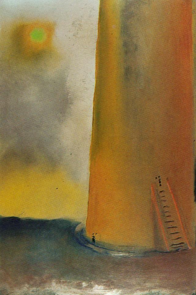Tower - Salvador Dali  #dali #paintings #art