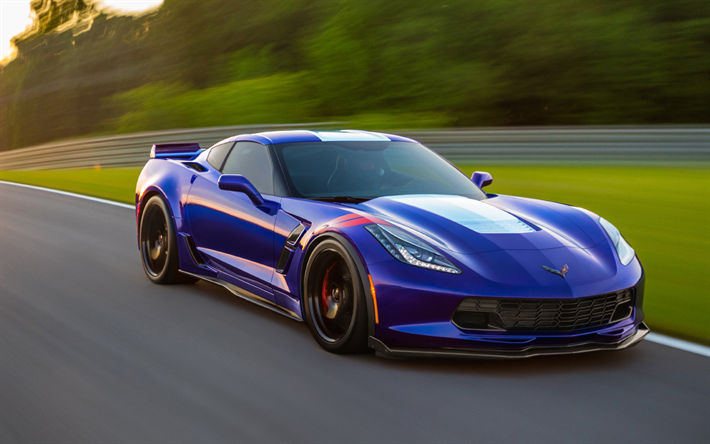 2018 Corvette Grand Sport >> Download Wallpapers Chevrolet Corvette Grand Sport 4k