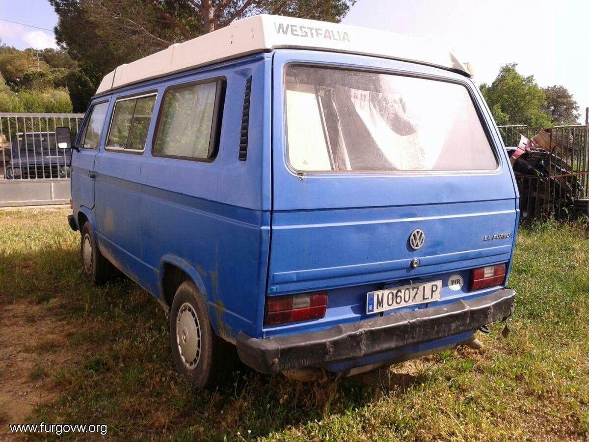 Volkswagen T3 multivan westfalia 5000€ - Pals (Girona)   VW Camper ...