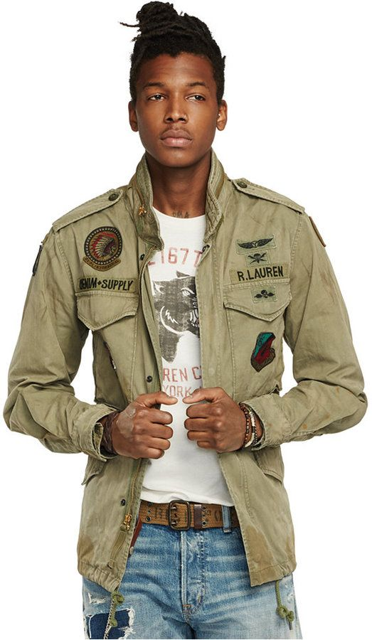 Denim & Supply Ralph Lauren Canvas Field Jacket | Männer