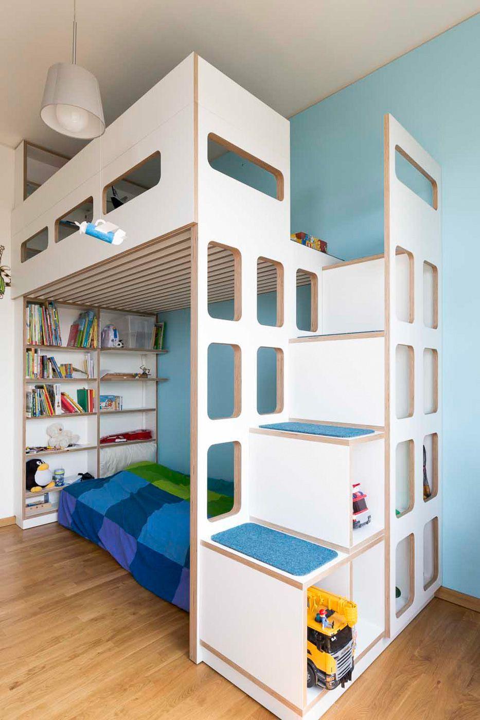 12 Elegant Fotos Von Kinderzimmer Junge Hochbett Hochbett Selber Bauen Bett Kinderzimmer Hochbetten Kinderzimmer