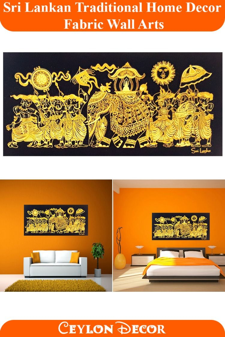 Sri Lankan Traditional Home Decor Wall Arts Betawi Wall