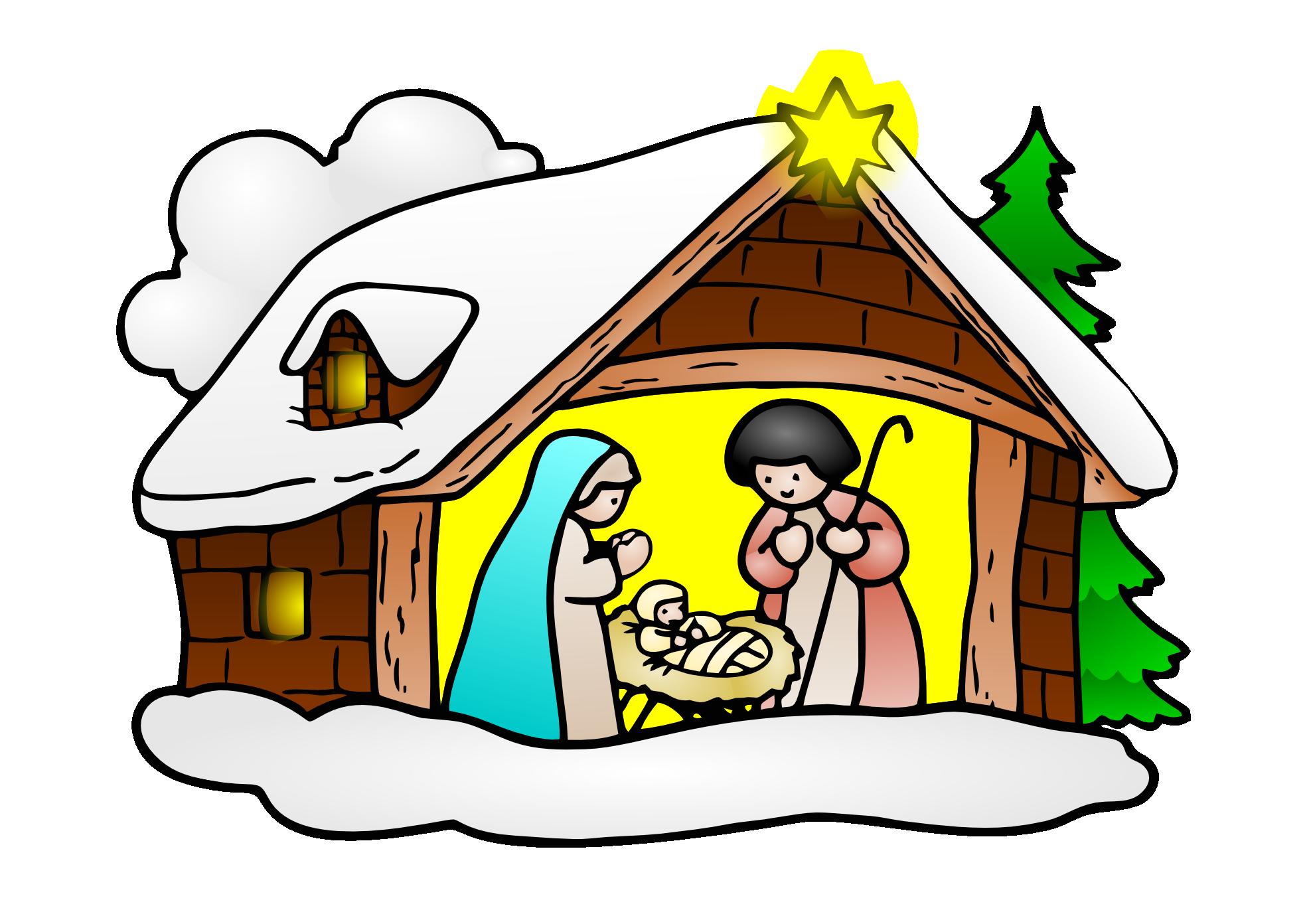 Free clip art baby jesus christmas clipartfest Clip art