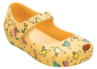 Melissa Plastic Dreams + Vivienne Westood lil' girl shoes!