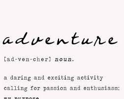 Image result for adventure definition  Adventure, Nouns, Definitions