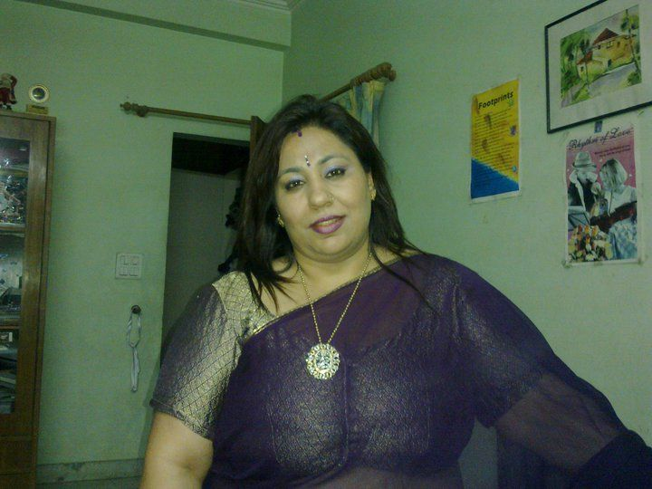 Indianaunty  Indian Aunties  Big, Beautiful, How To Wear -5257