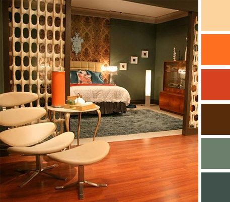 1960s Interior House Colors 1960s Home Vintage Living