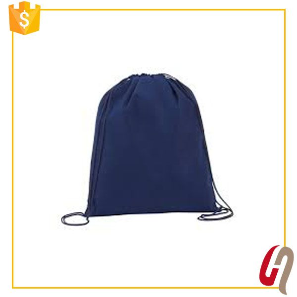 Hot Sales Gold Supplier Fast Delivery 190t polyester drawstring bag custom gym sack drawstring bag