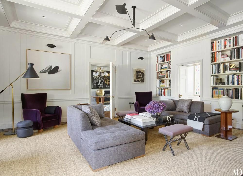 Mark Cunningham Rejuvenates Hana Soukupova And Drew Aaron S Connecticut Home In 2020 Residential Interior Living Room Interior Design