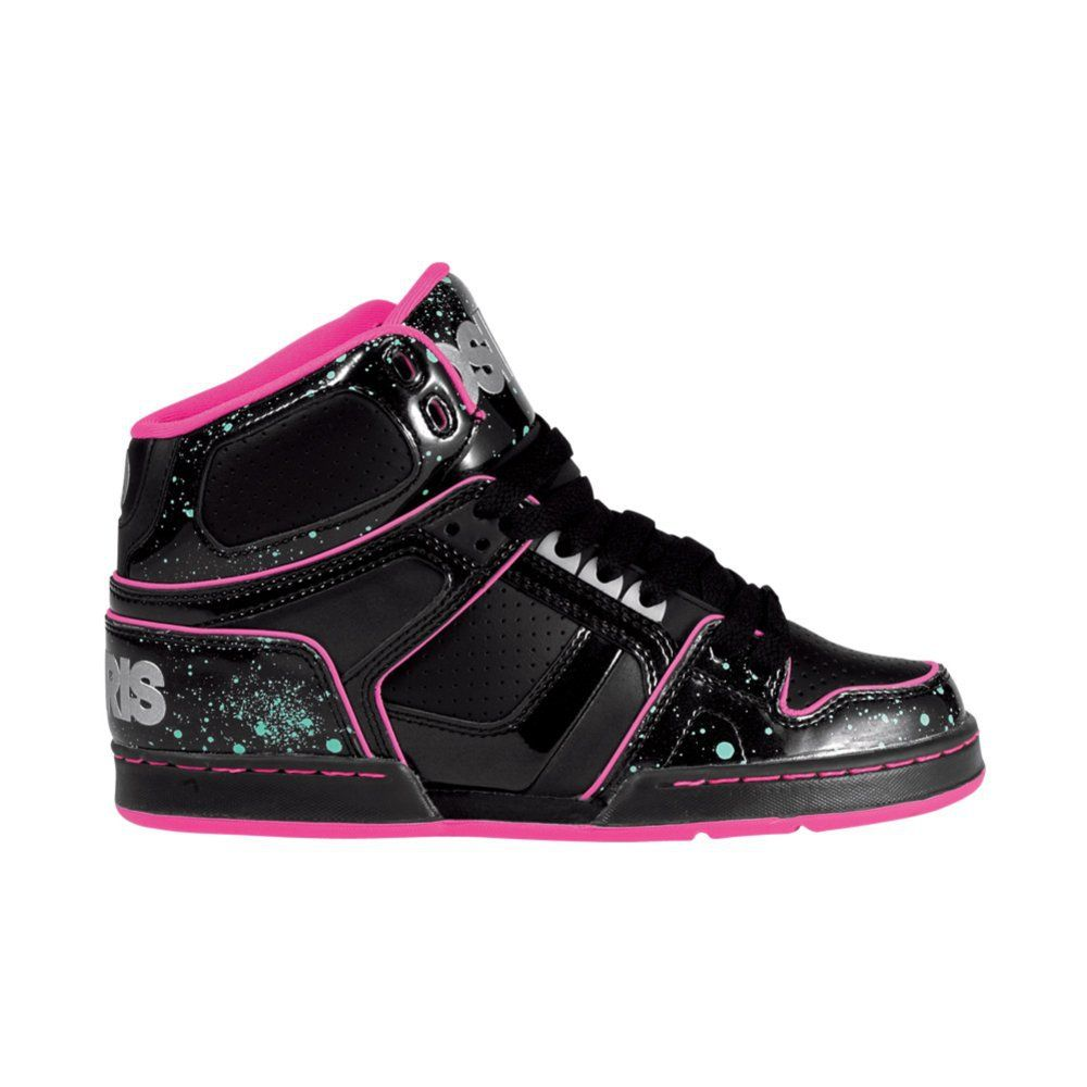 ea480cb8e7c Womens Osiris NYC 83 Slim Ultra Skate Shoe, BlackPink Journeys Shoes ...