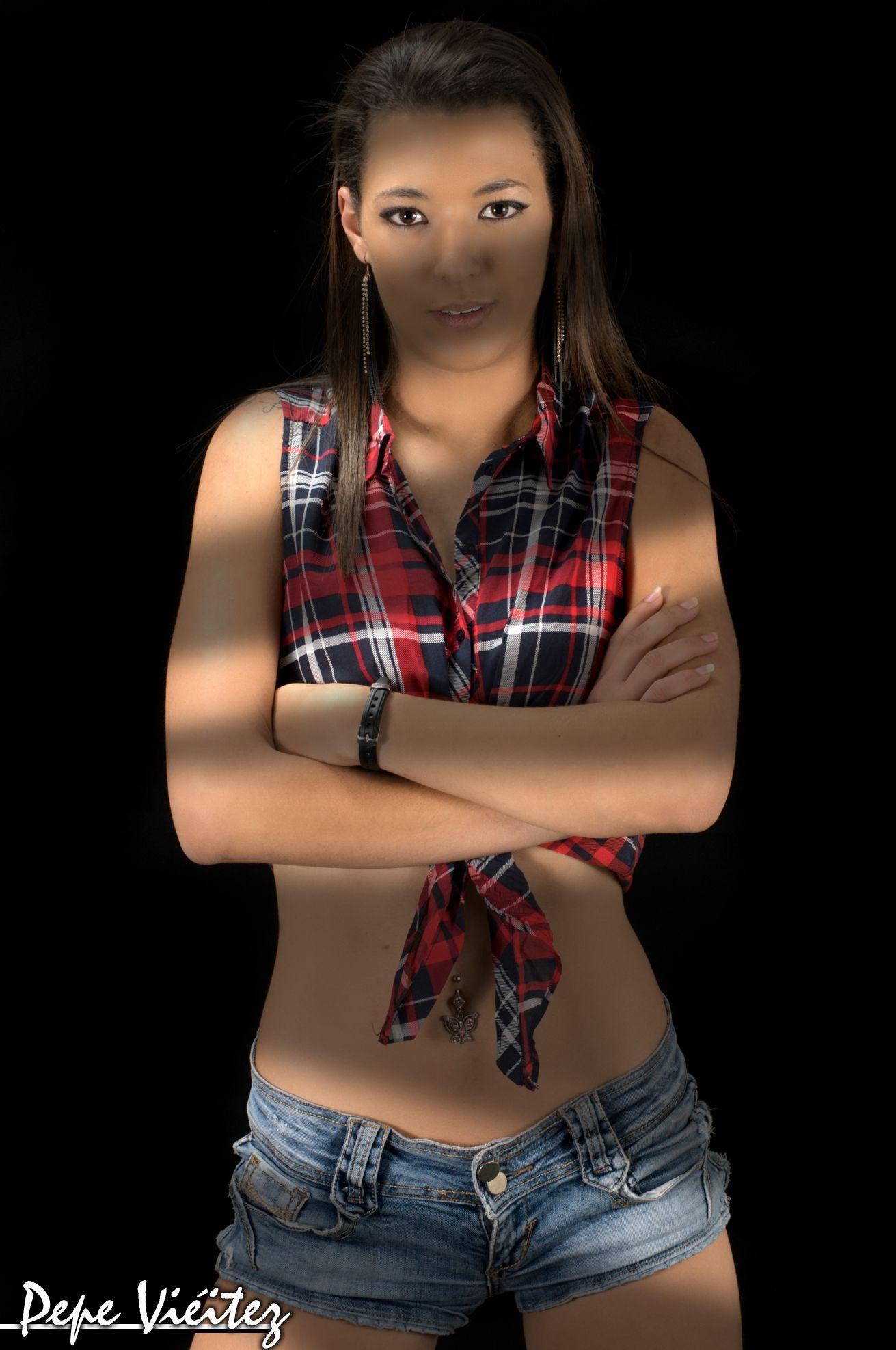 Modelo Melani Santana Fotografia pepe vieitez moda, belleza, elegancia, feminidad, modelo