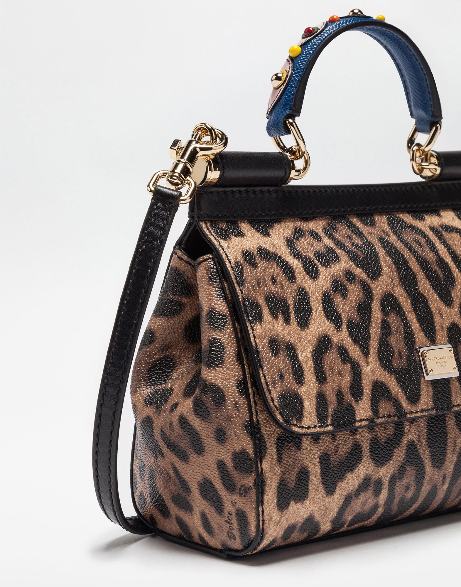 731789c661 Dolce   Gabbana SICILY BAG leopard SS 2017