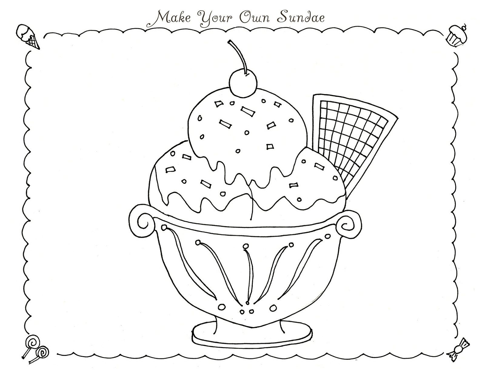 Candyland Coloring Pages for Kids | Activity Shelter | Coloring ...