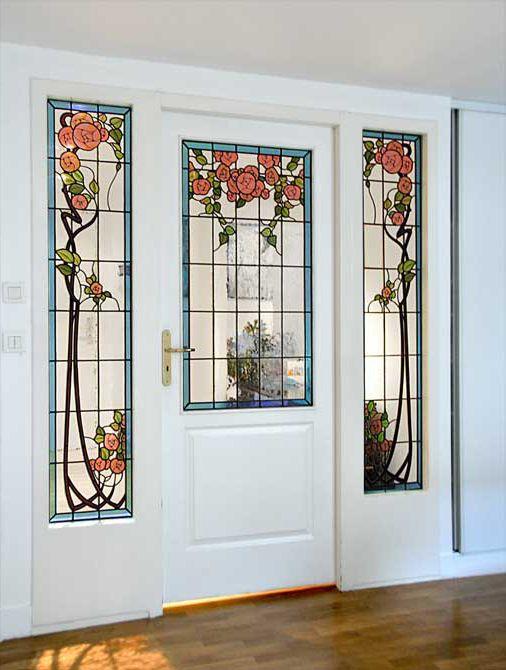 HONKY-TONK VITRAIL  un vitrail, des vitraux\u2026 pour la decoration