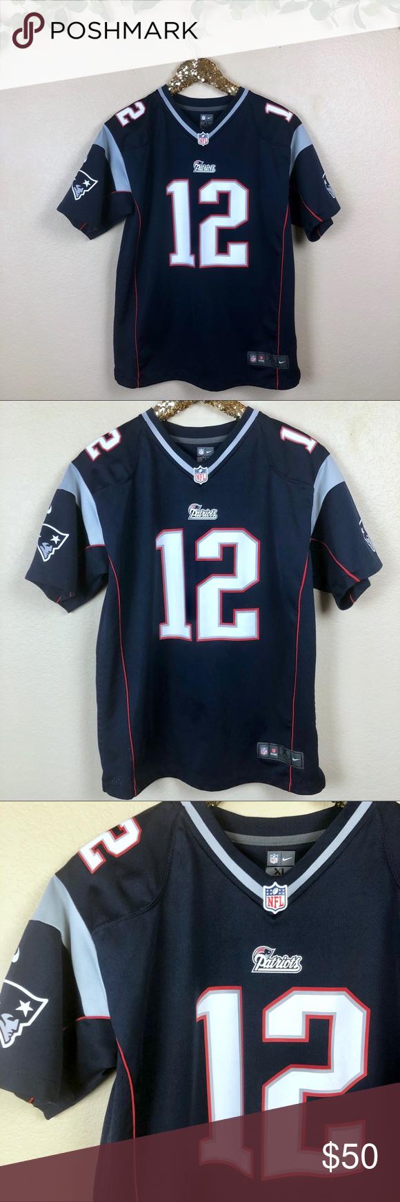 Nike Women S Tom Brady Patriots Jersey From Nike Women S Tom Brady New England Patriots Jersey Details Women S Nike Game Jerse My Posh Closet In 2019