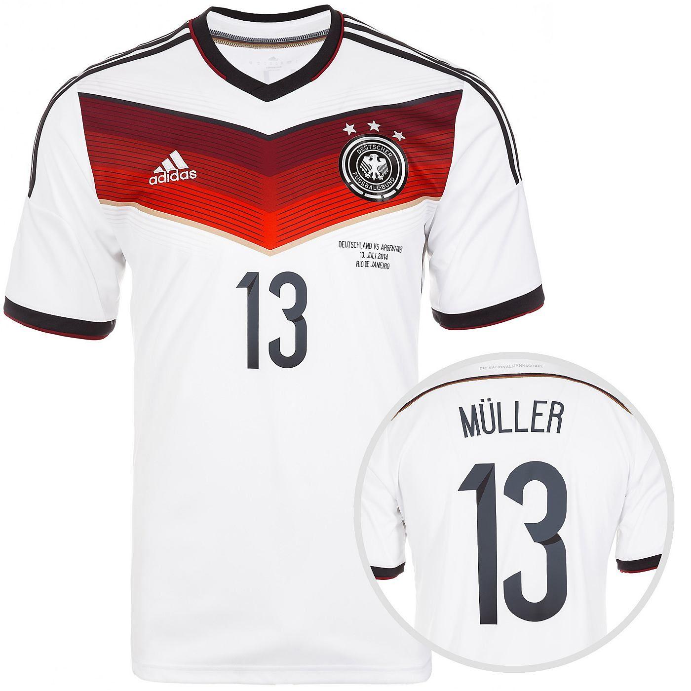 Adidas Adidas Trikot Deutschland 2014 Weltmeisterschaft