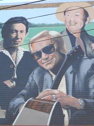 Dothan Alabama Mural Musicians George Jones George Jones Dothan Alabama Fifty States