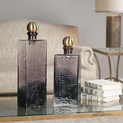 64358a3396d4 Bottles 36016  Uttermost 20075 Benedetto Glass Bottles