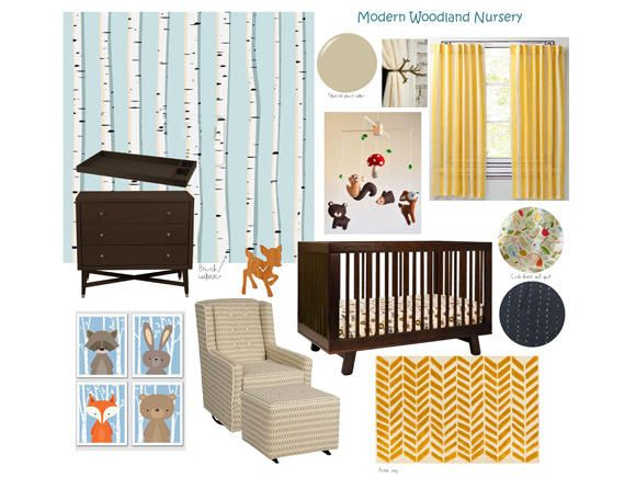Nursery Inspiration Into The Woods