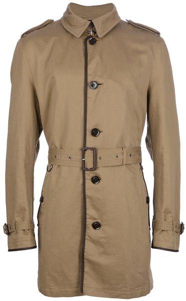 e87b1b1c0f43 Burberry Brit Brixton Trench Coat in Khaki for Men (blush)