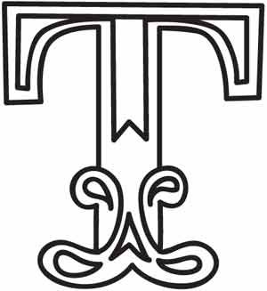 Cirque letter t design uth3685 from for Letter t decoration