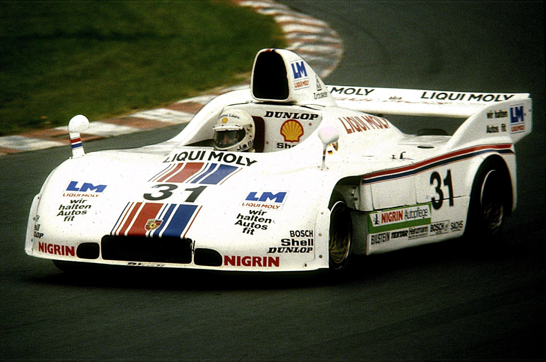 Jürgen Barth in the 1980 Porsche 908/3 Turbo
