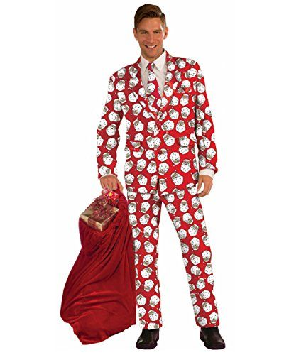 Step Up in a Men's Ugly Christmas Sweater Suit | Costumes ...
