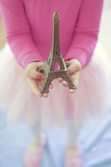 Eiffel Tower, Paris - pink